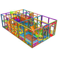 8x5x2.5 m Softplay Oyun Parkuru